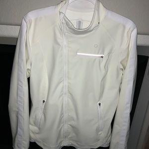 LULULEMON Keep It Up white jacket